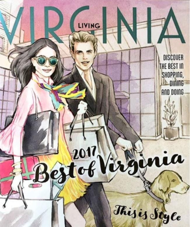 A photo of Virginia Living Magazine