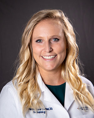 A photo of Dr. Samantha Sternad