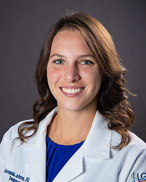 A photo of Dr. Amanda Johns