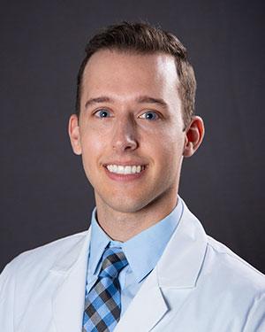 A photo of Dr. Jared Brackenrich